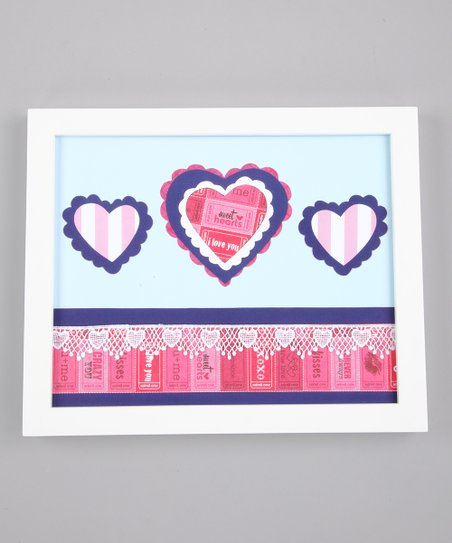 Sweetshop Hearts Print