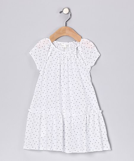 Porcelain Ruffle Dress - Infant & Toddler