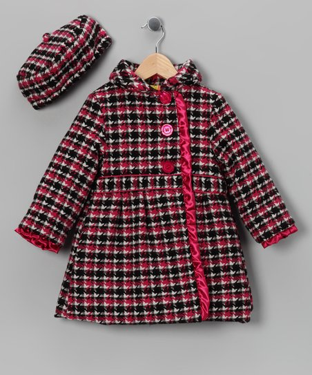 Penelope Mack Pink Coat &amp; Hat - Infant, Toddler &amp; Girls