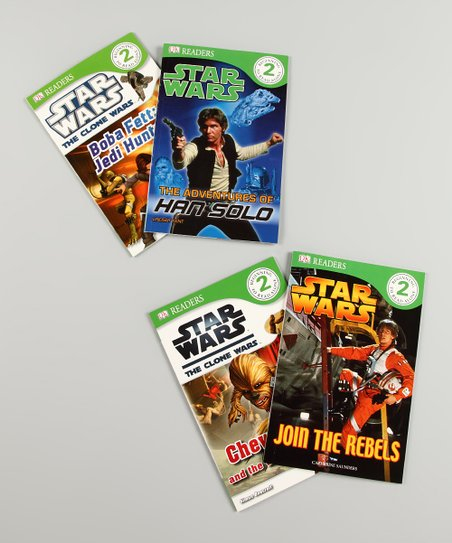 Star Wars DK Readers Level 2 Paperback Set