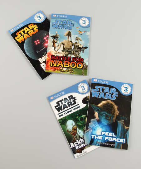 Star Wars DK Readers Level 3 Paperback Set