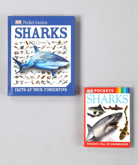 Pocket Guide: Sharks Hardcover & Pocket Genius: Sharks Paperback