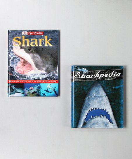 Sharkpedia & Eye Wonder: Sharks Hardcovers