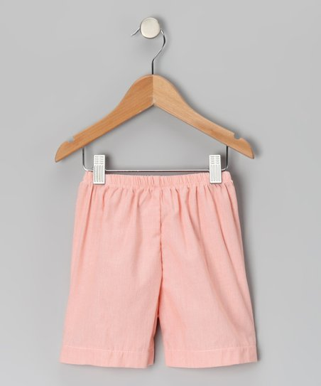 Orange Stripe Shorts - Infant, Toddler & Boys