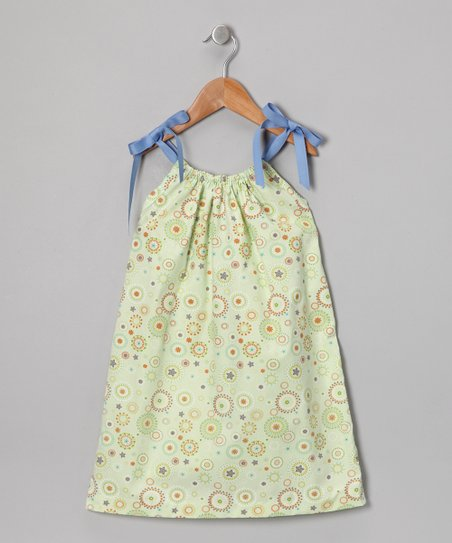 Green Seashell Sundress - Toddler & Girls