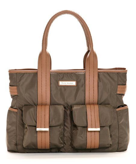 Brown Zoey Diaper Bag