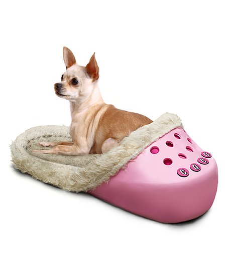 Pink Sasquatch Pet Bed & Name Kit
