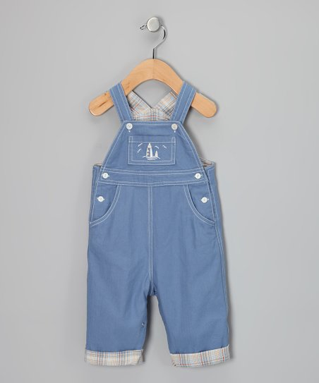 Blue Lighthouse Overalls - Infant