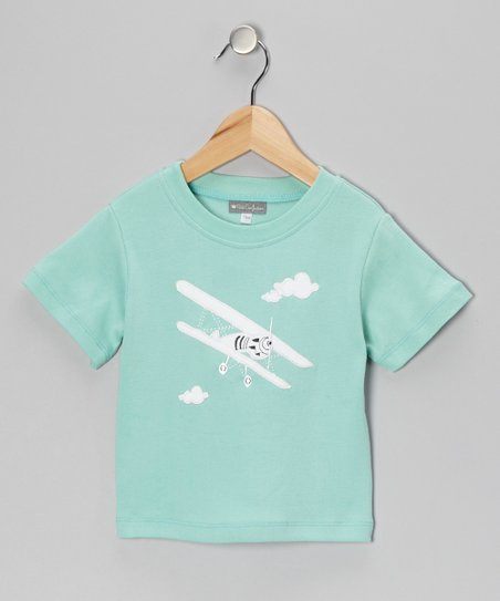 Teal Airplane Tee - Infant