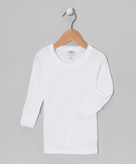 White Caboodle Tee - Infant &amp; Toddler
