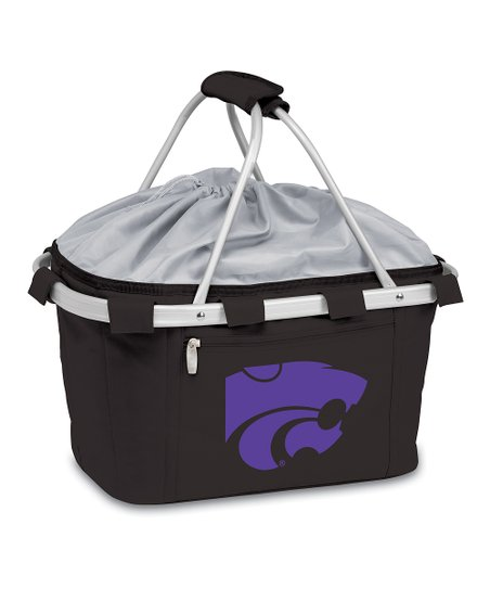 Kansas State Wildcats Black Metro Basket