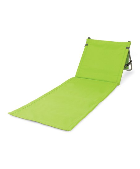 Lime Beachcomber Portable Beach Mat