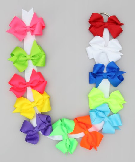 Summer Brights Bow Set