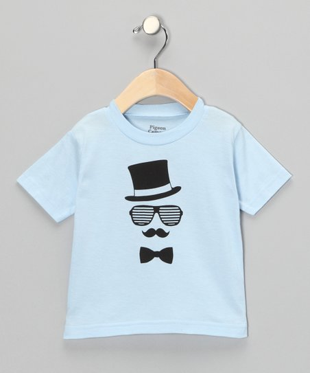 Light Blue Gent Tee - Toddler