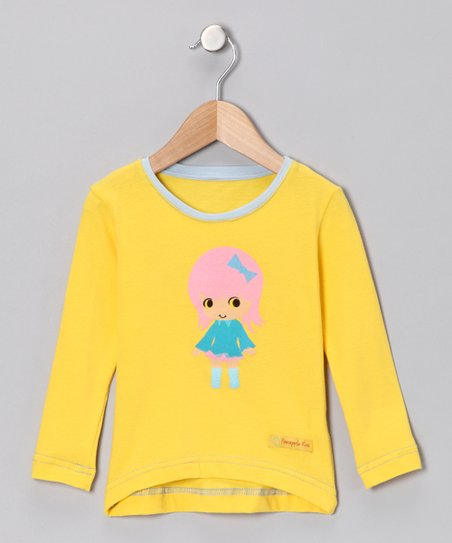 Yellow Girl Tee - Infant, Toddler & Girls