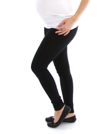 Black Maternity Skinny Pants