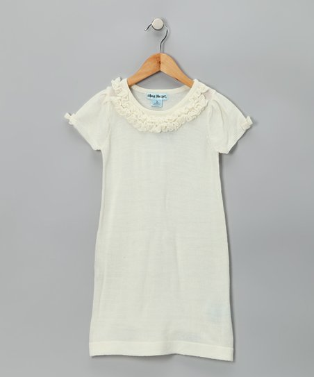 Off-White Sweater Dress - Infant, Toddler & Girls
