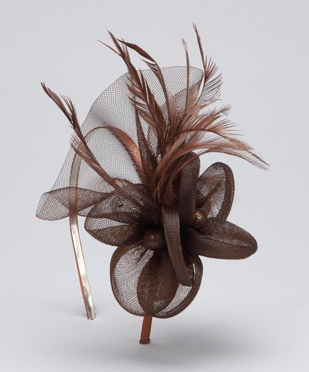 Chocolate Vintage Headband