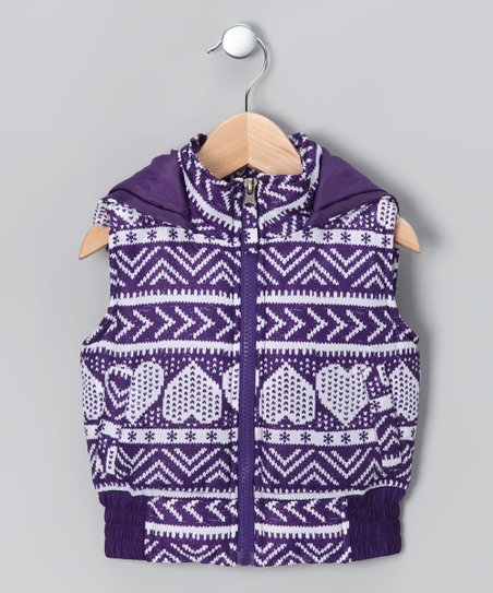 Purple Alpine Vest - Toddler & Girls