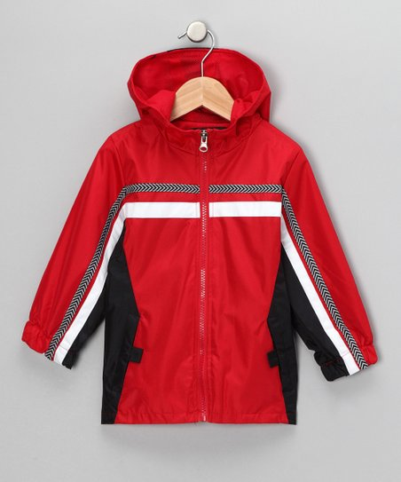Red Hooded Coat - Infant & Toddler