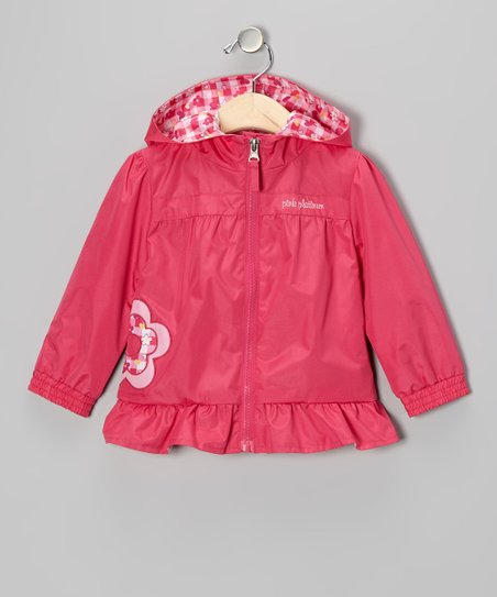 Fuchsia Daisy Jacket - Infant & Toddler