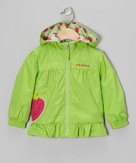 Lime Strawberry Jacket - Infant & Toddler