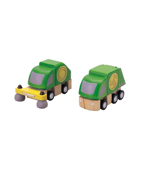 Street Cleaner &amp; Garbage Truck Set