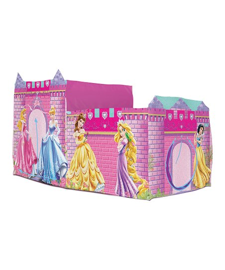 Pink Princess Castle Bed Topper