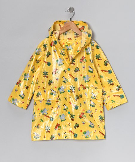 Yellow Safari Raincoat - Infant, Toddler & Kids
