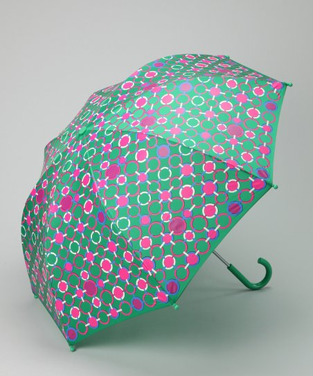 Green & Pink Umbrella