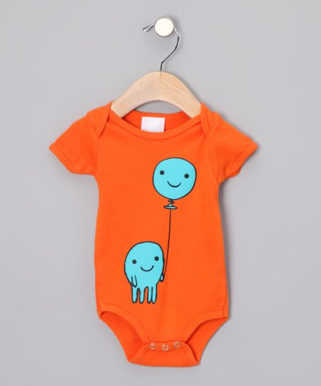 Orange Balloon Boy Bodysuit - Infant