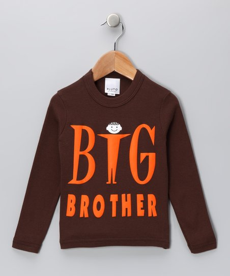 Brown 'Big Brother' Tee - Toddler & Boys