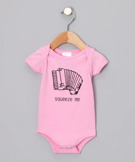 Pink 'Squeeze Me' Bodysuit - Infant
