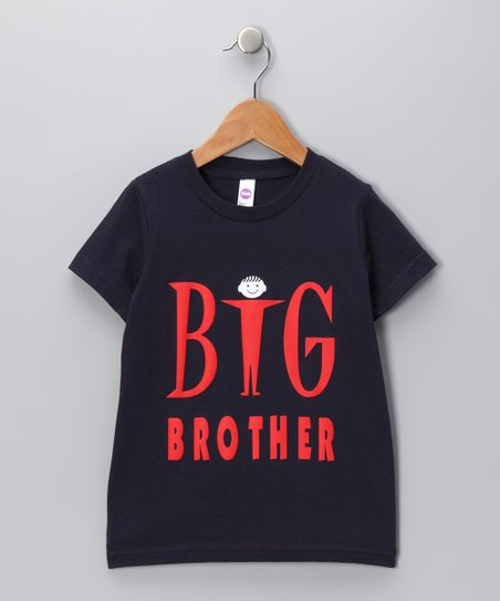 Navy 'Big Brother' Tee - Toddler & Boys