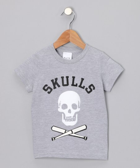 Gray &#039;Skulls&#039; Tee - Infant &amp; Toddler