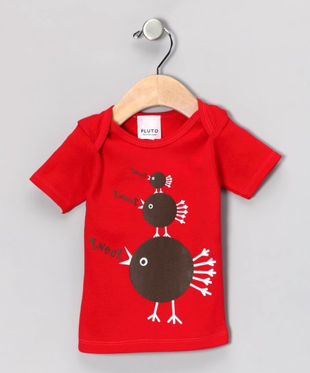 Red &#039;Tweet&#039; Tee - Infant &amp; Kids