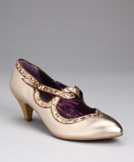 Gold Dorothy's Dream Pump