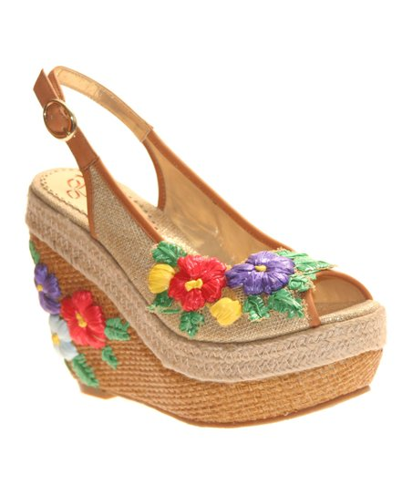 Natural Petal Pusher Wedge
