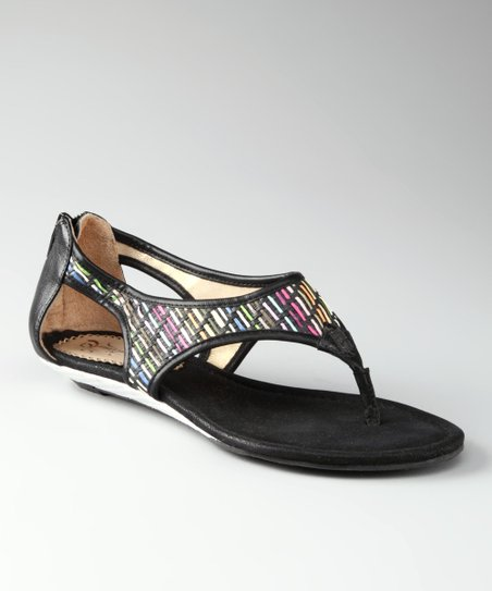 Black Sincerely Jules Sandal