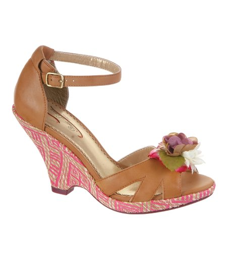 Tan True Romance Sandal