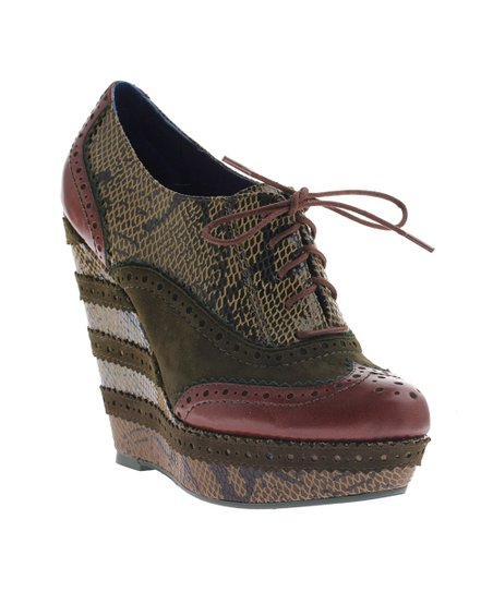 Green Wild Safari Wedge