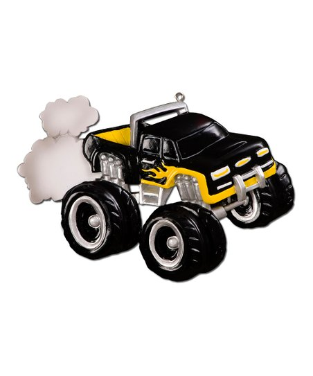 Black Monster Truck Ornament