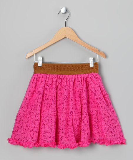Rose Lace Skirt