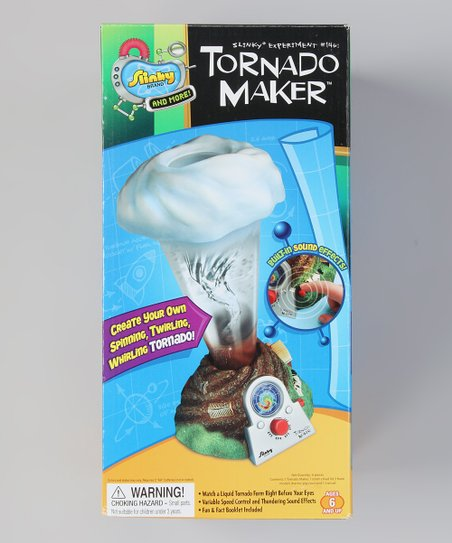 Poof-Slinky Tornado Maker Kit
