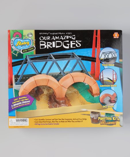 Poof-Slinky Our Amazing Bridges Kit