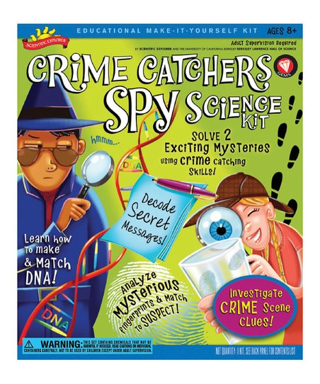 Crime Catchers Science Kit