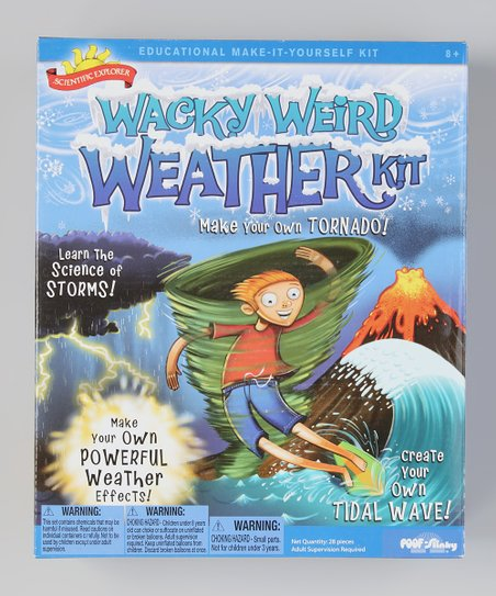 Scientific Explorer Wacky Weather Kit
