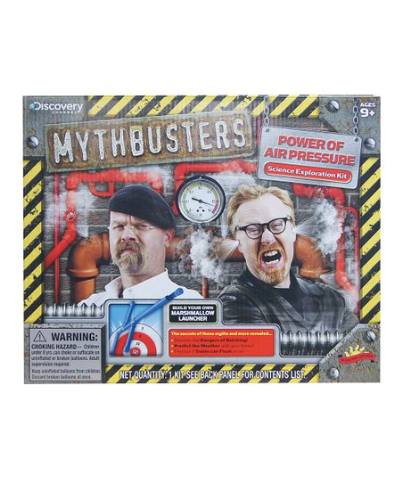 Poof-Slinky Power of Air Pressure Mythbusters Kit
