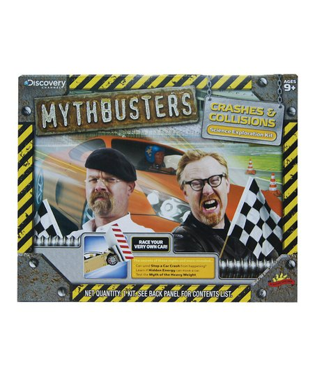 Poof-Slinky Crashes &amp; Collisions Mythbusters Kit
