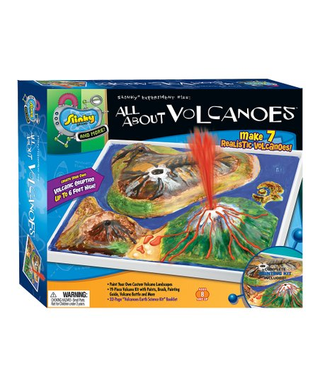Poof-Slinky All About Volcanoes Slinky Science Kit